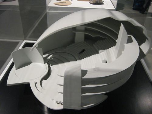 Maqueta Universal Theater de Kiesler (La Casa Encendida)