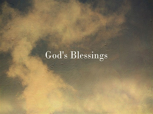 God's Blessings Over your life