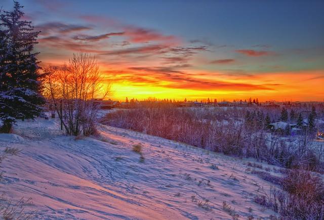 Sunrise Calgary