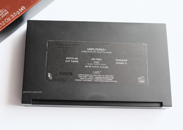 NARSissist Unfiltered I Cheek Palette3