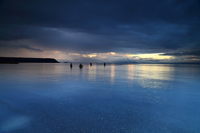 Fishermen - Lake Taupo  NZ