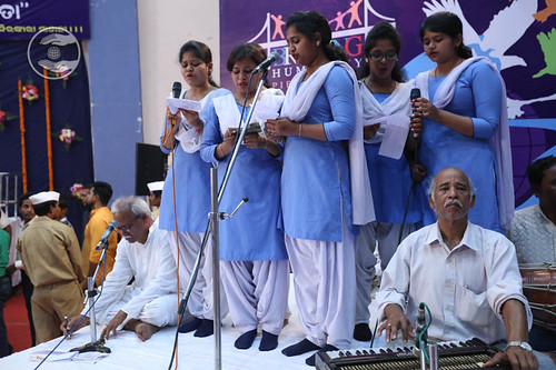Welcome song by Pooja and Saathi from Cuttack, Odisha