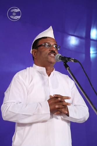 R.M. Patil from Ram Nagar, expresses his views