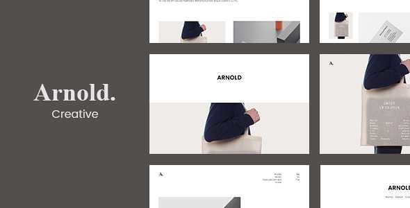 Arnold WordPress Theme free download