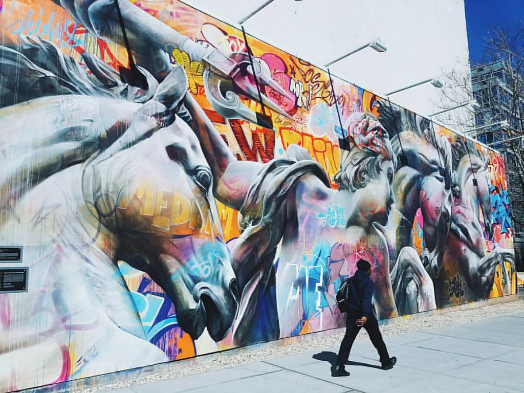 Pichiavo. Bowery wall. . . #art #streetart #streetphotography #mural #muralism #publicart #igersnyc #ignyc #nyc #newyorkcity #pichiavo