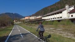 am CAAR von Thörl Maglern nach Gemona del Friuli
