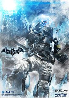 Prime 1 Studio 蝙蝠俠:阿卡漢起源【急凍人】Mr. Freeze 1/3 比例全身雕像作品 MMDC-22EX