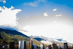 Caracas en contraste.
