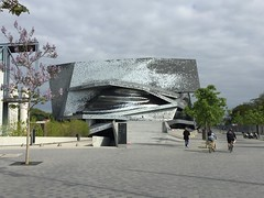 Home of the French national symphony in the Cité de la musiqué.