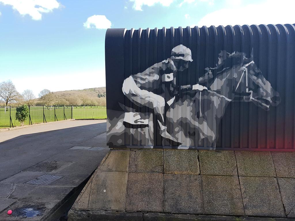 Cardiff for Sport by Peaceful Progress, Trelai Park Cardiff