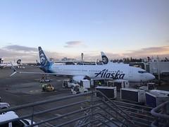 Alaska Airlines 16 SEA-MCO Boeing 737-900ER N264AK
