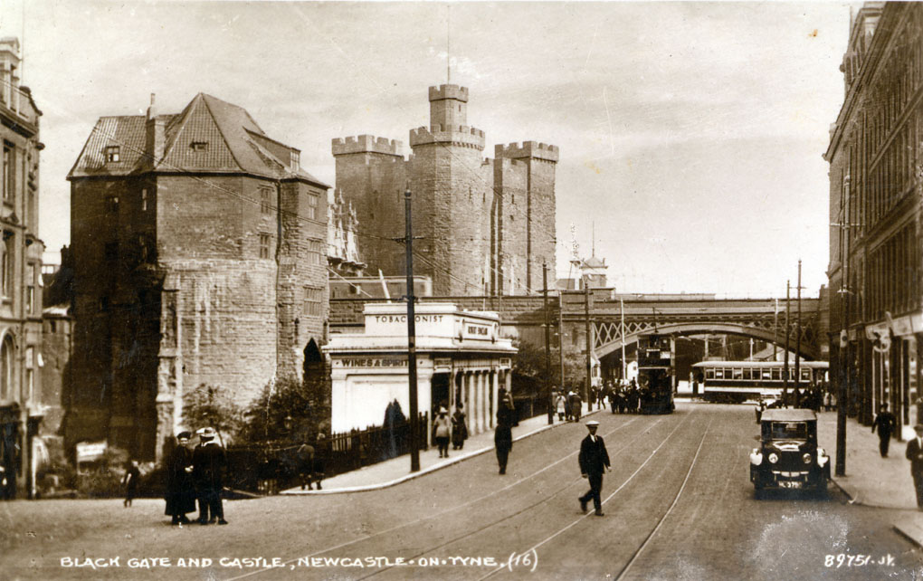 Black Gate and the Castle Keep, Newcastle upon Tyne