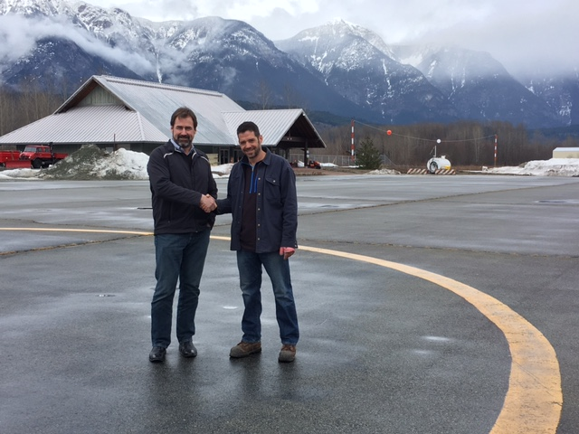 Funding supports Pemberton airport infrastructure project