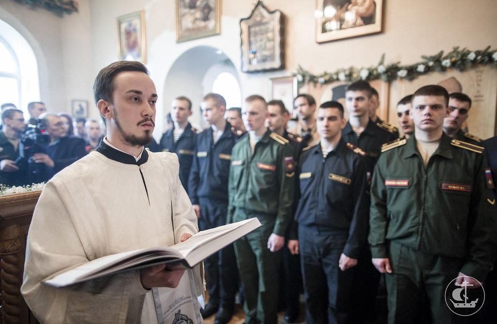 8 апреля 2017, Литургия в Военно-медицинской Академии. Лазарева суббота / 8 April 2017, Liturgy in the S.M. Kirov Military Medical Academy. Lazarus Saturday