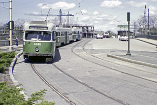 US MA Boston MBTA PCC 3052 Watertown Washington Masspike 1 5-13-1984 BSRA FT.tif