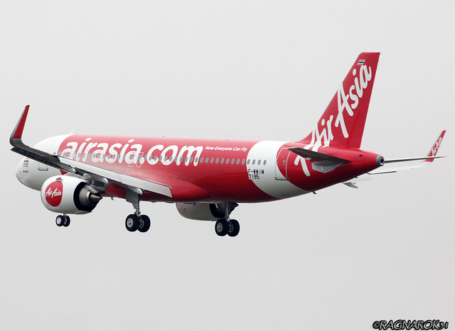 A320NEO ThaiAirAsia F-WWIM-008 cn7195, Canon EOS 60D, Sigma 50-500mm f/4-6.3 APO HSM EX