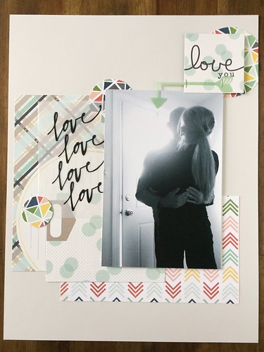 Gray love layout | by thepapergoddess