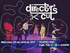 Última función de la temporada ! - Miércoles 26 de abril 2017 - Teatro R101 - 8:00pm