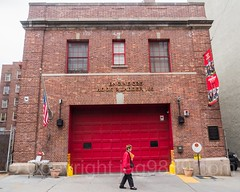 FDNY Firehouse Engine 325 & Ladder 163, Woodside, New York City