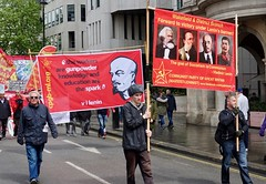 May Day March, London 8
