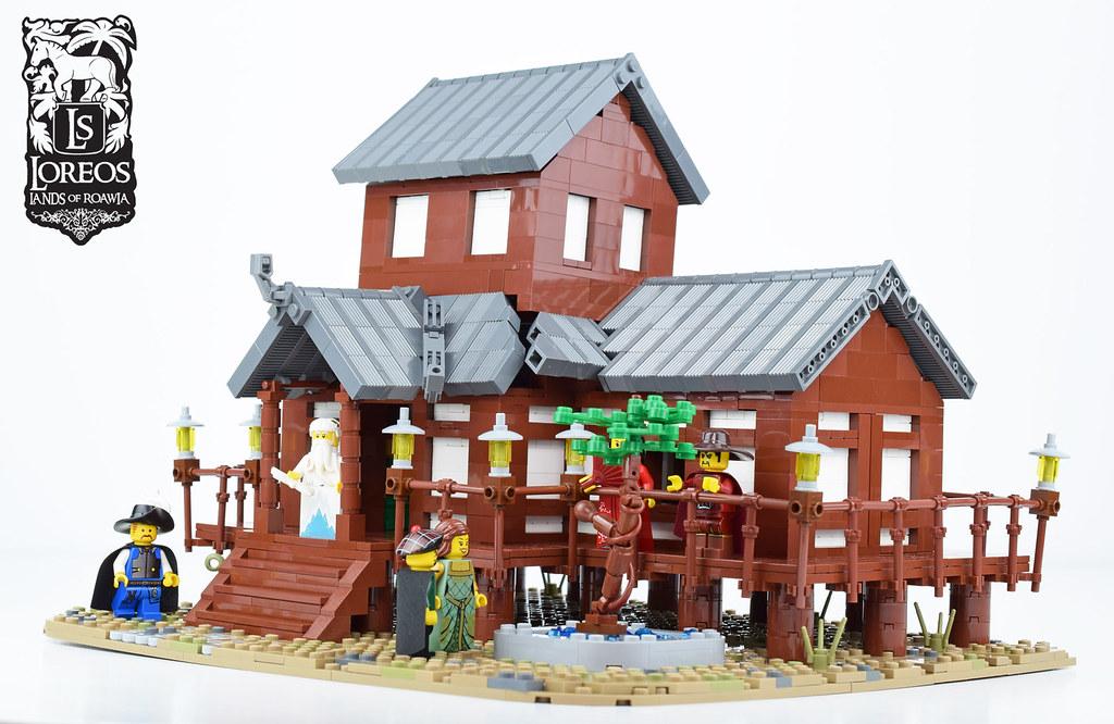 Tabashii's Tea House (custom built Lego model)