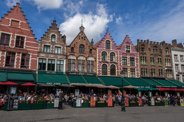 A Sunny Day in Bruges