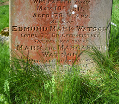 fell in action at Belmont South Africa December 23rd 1899 aged 22 years