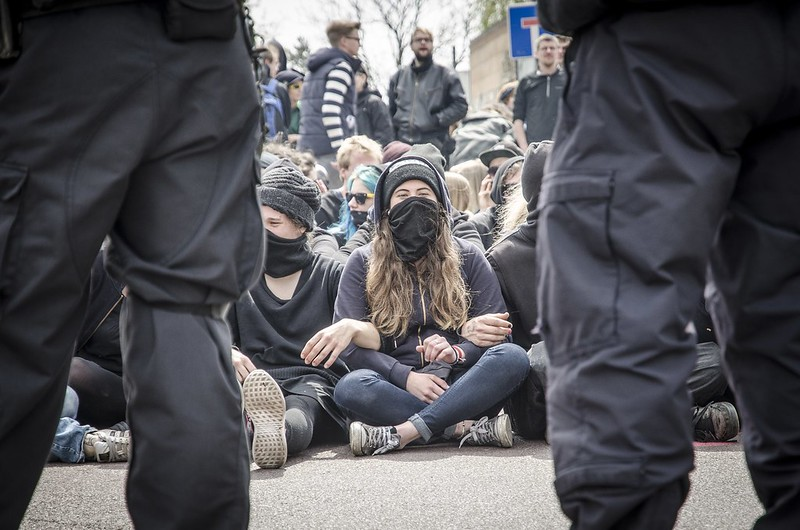 01.05.2017 - Gegenprotest & Naziaufmarsch in Halle
