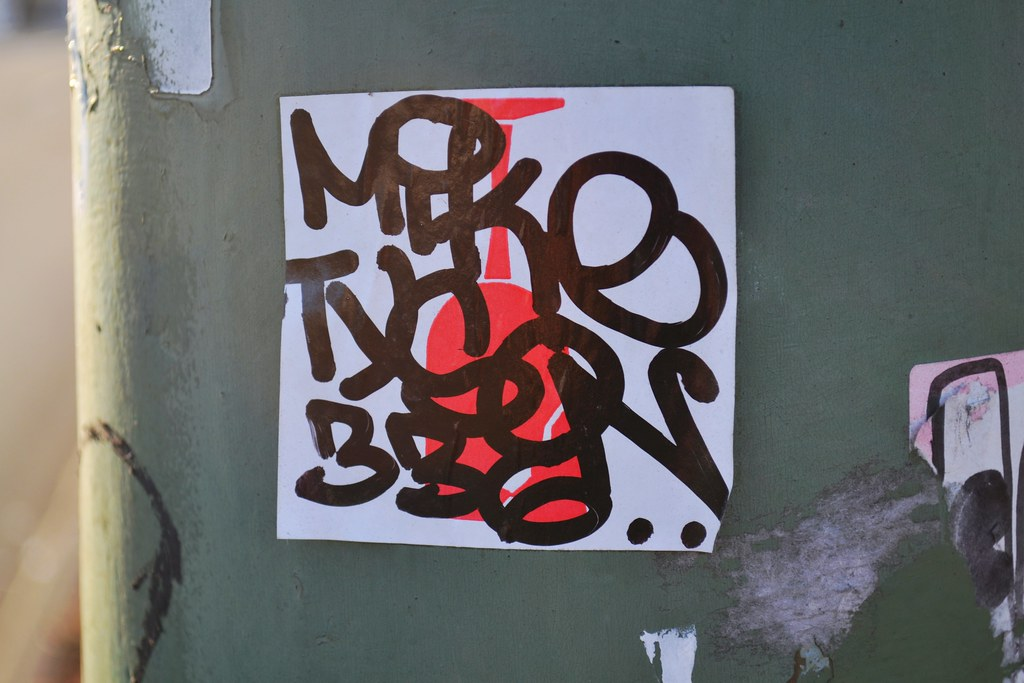 MIKE, Graffiti, Street Art, Oakland