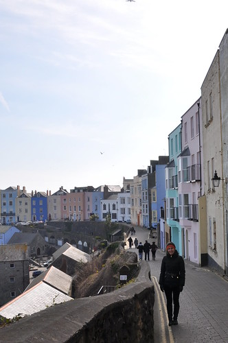 Tenby candy coloured seaside