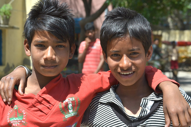 A picture of some Indian Children