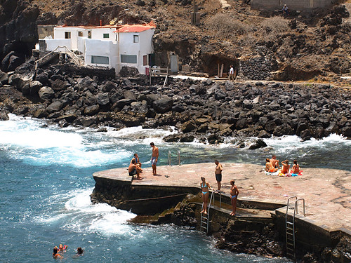 East Coast Hamlet in Summer, Tenerife