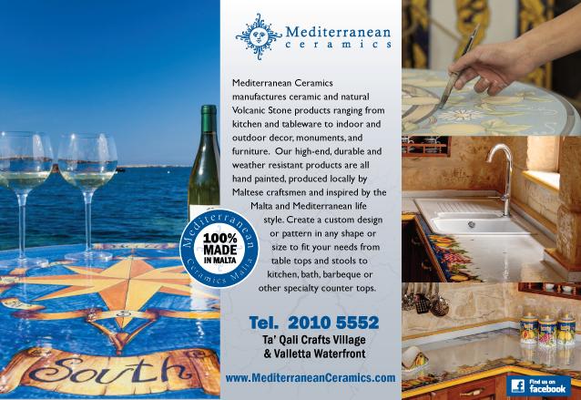 Magazine Print Advert: Mediterranean Ceramics