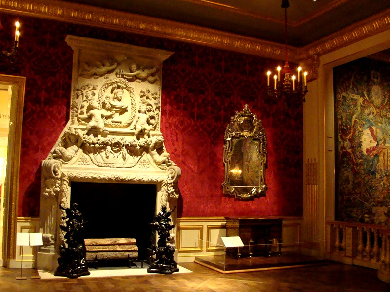 The Met fireplace King Louis