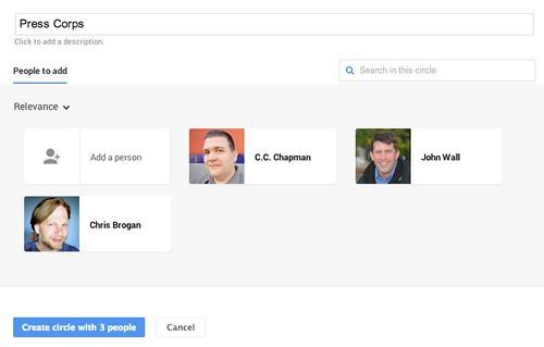 (3) Circles - Google+