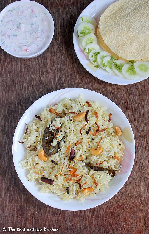 hyderabadi bagara rice
