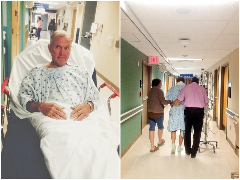 Dad's Spine Surgery