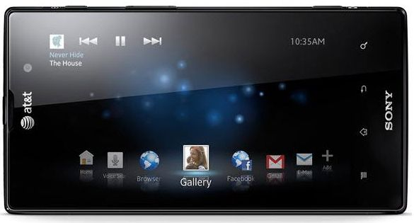 Android 4.1 для Xperia ion