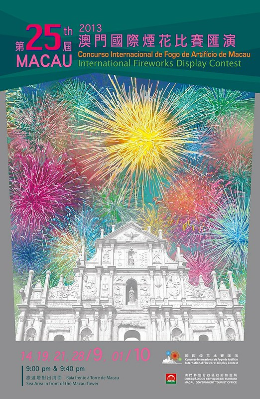 Macau International Fireworks Display 2013 Poster