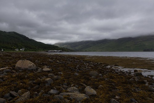 Inverie under stormy skies