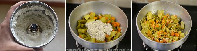 Kerala Aviyal Recipe - Step2