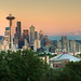 Seattle at the edge of Rainier[Explored 12 July 2013] by Wandering Tripod