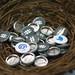 Twitter Buttons at OSCON by Garrett Heath