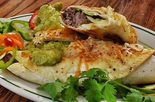 Mmm... beef brisket burritos