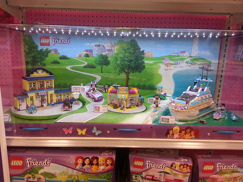 LEGO Friends Display