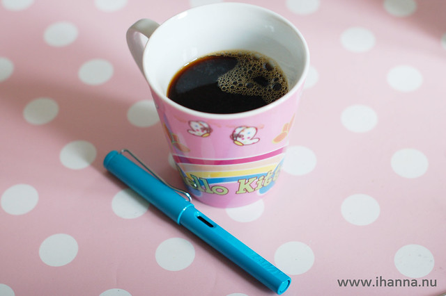 Coffee and a good pen
