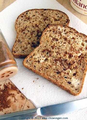 Vegan Cinnamon Toast