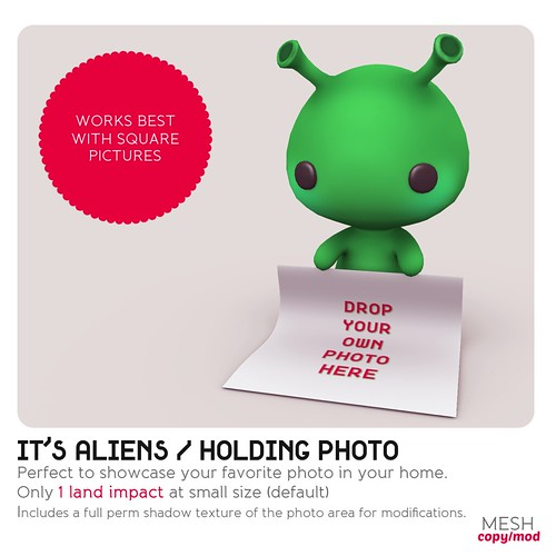 *MishMish* It's Aliens - Holding Photo