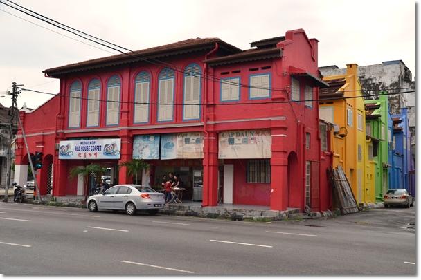 Opposite Red House