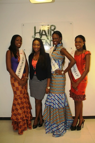 Miss Ghana 2013 winners visit Hair Senta (7)